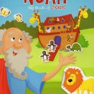 Big Book of Stickers - The Story of Noah - Activity Book Includes Over 80 Stickers