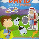 Big Book of Stickers - Story of David - Activity Book Includes Over 80 Stickers