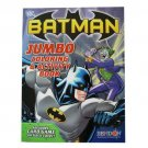Batman Coloring Book - Batman Jumbo Coloring And Activity Book With Bonus Card Game On Cover