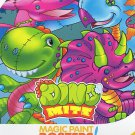 Savvi Magic Paint Posters - Dino Mite. Water coloring book