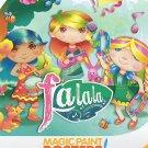 Savvi Magic Paint Posters - Fa La La. Water coloring book