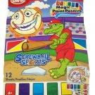 Savvi Magic Paint Posters ~ Screwball Sports. Water coloring book