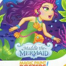 Savvi Magic Paint Posters - Maddie the Mermaid. Water coloring book