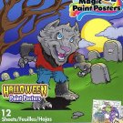 Savvi Magic Paint Posters - Halloween - v2. Water coloring book