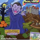 Savvi Magic Paint Posters - Halloween - v1. Water coloring book