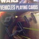 Star Wars Villains Vehicles Playing Cards by Cartamundi