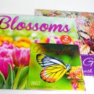 2017 Flower Butterflies Garden 12 month Wall Calendars and 2017 Mini Butterfly Bundle