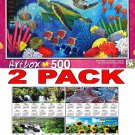 Sea Turtles by Roland Richardson - Art Box - 500 Piece Jigsaw Puzzle