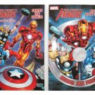 "Marvel Mighty Avengers (2 Pack) Coloring & Activity Book ""Heroes Join Forces"" & ""Saving The World"""