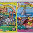 Bible Stories to Read & Color
