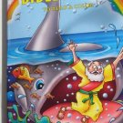 Bible Stories to Read & Color ~ Jonah & the Whale Art Cover