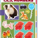 1, 2, 3, Numbers (My First Book of 100 Stickers!) Coloring & Activity Book