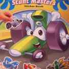 Educational Hot Rods Sticker Book ~ Stunt Masters (Over 50 Reusable Stickers)
