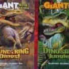 Dinosaurs Rampaging Coloring Fun Giant / Big Fun Book to Color . Assorted