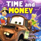 Disney & Pixar Film Characters ~ Adventures in Learning Workbook ~ Time & Money