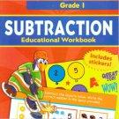 Subtraction Educational Workbook Grade 1