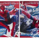 Marvel - (2 Pack) The Amazing Spiderman 2 Giant Coloring & Activity Book Set Power On & Swing On
