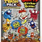 The Trash Pack Slimy Sticker Scenes (Trash Pack Stick Scn). Activity Book