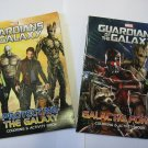 Guardians of the Galaxy Coloring & Activity Book Set Marvel (2 Pack)