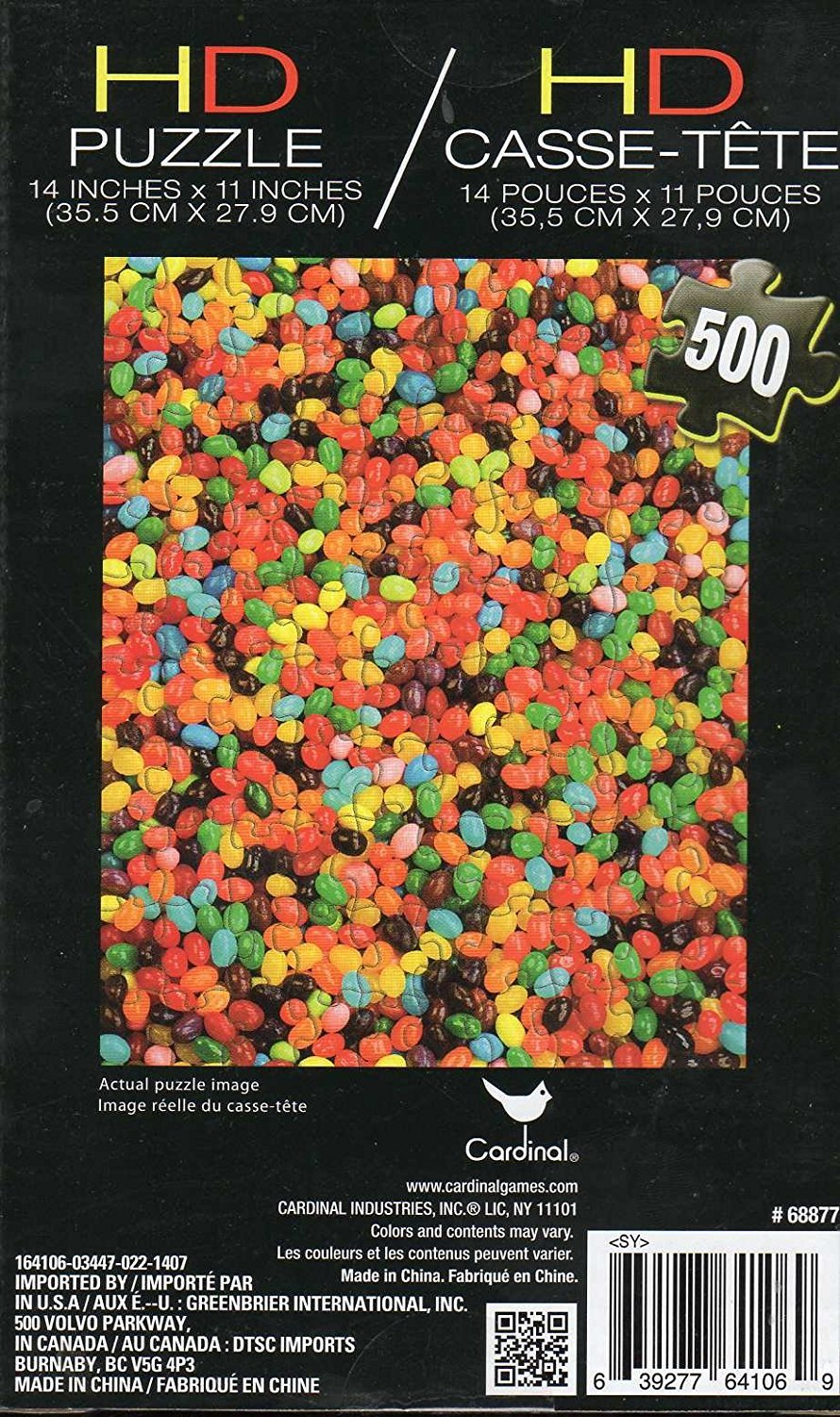 Hd Puzzle - 500 Pc Jigsaw Puzzle