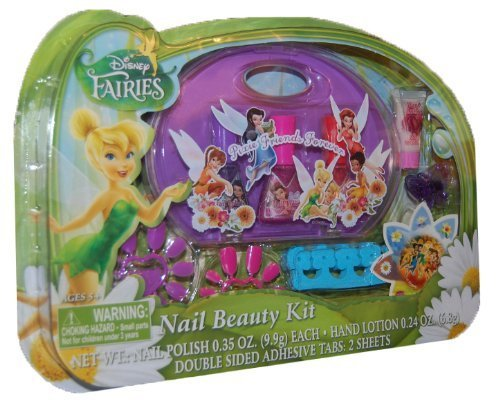 Disney Fairies Nail Beauty Kit 8 pieces