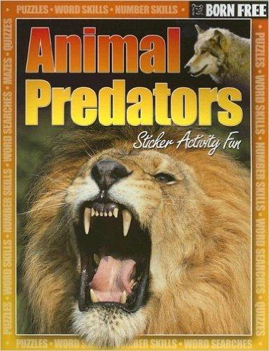 Born Free Animal Predators with Sticker. Book   Gordon Volke