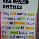 First Words & Rhymes Dry-Erase Wipe-Clean . Activity Book