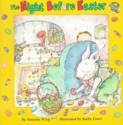 The Night Before Easter (All Aboard Books)  Natasha Wing
