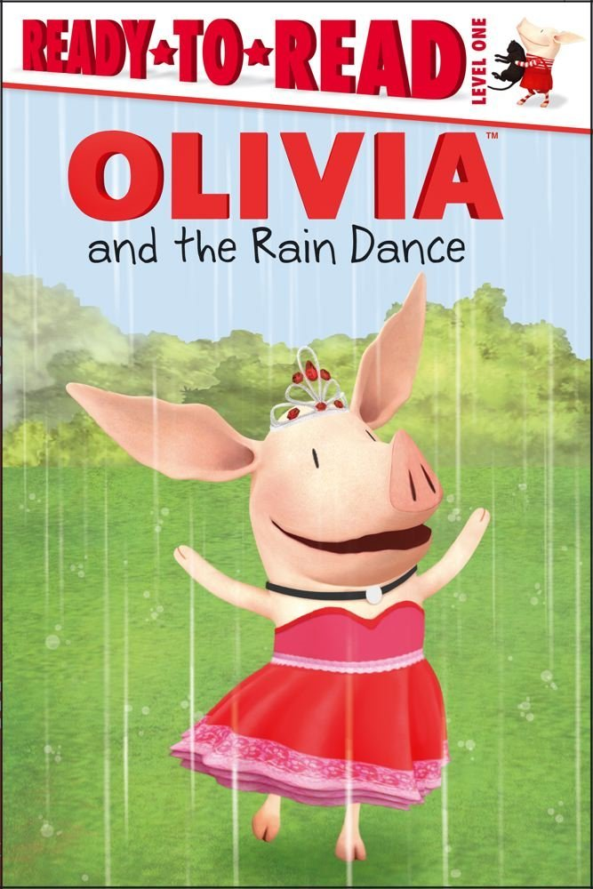 OLIVIA and the Rain Dance (Olivia TV Tie-in) . Book .