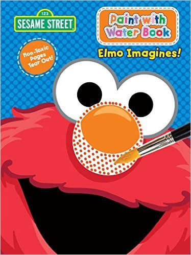 Sesame Street Paint With Water - Elmo Imagines. Activity Book