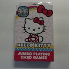 Hello Kitty Jumbo Playing Card Games