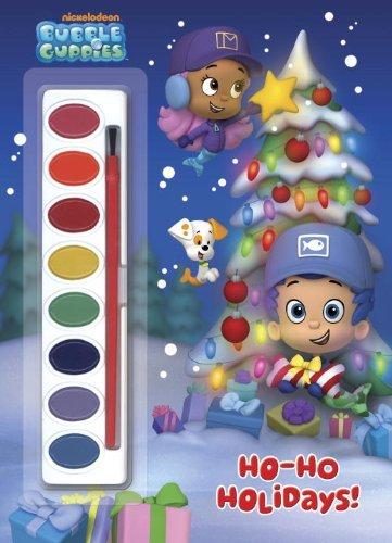 Ho-Ho Holidays! (Bubble Guppies) (Paint Box Book)
