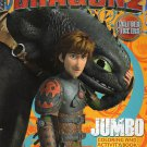 How to Train Your Dragon Coloring & Activity Book (Includes Stickers)