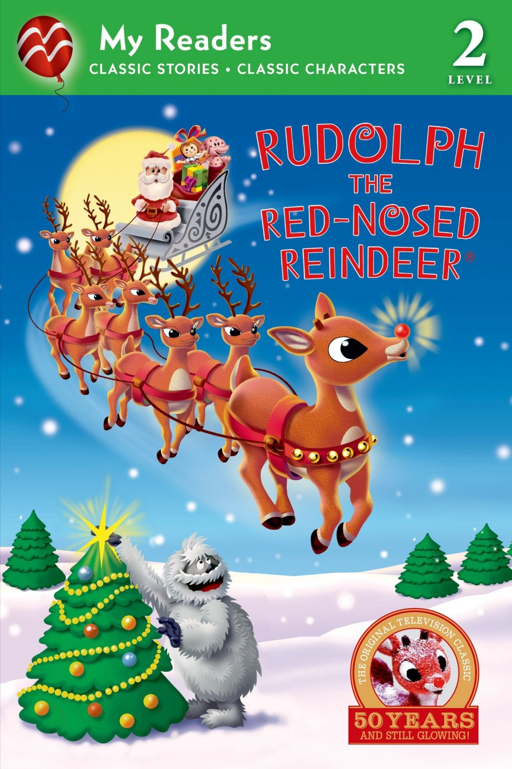 Rudolph the Red-Nosed Reindeer (My Reader, Level 2). Book