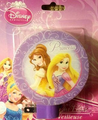Disney Princess Night Light - Belle and Tangled Rapunzel