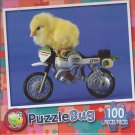 Puzzlebug 100 Piece Puzzle ~ Biker Chick