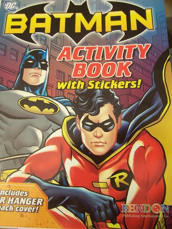 DC Comics Batman Activity Book with Stickers