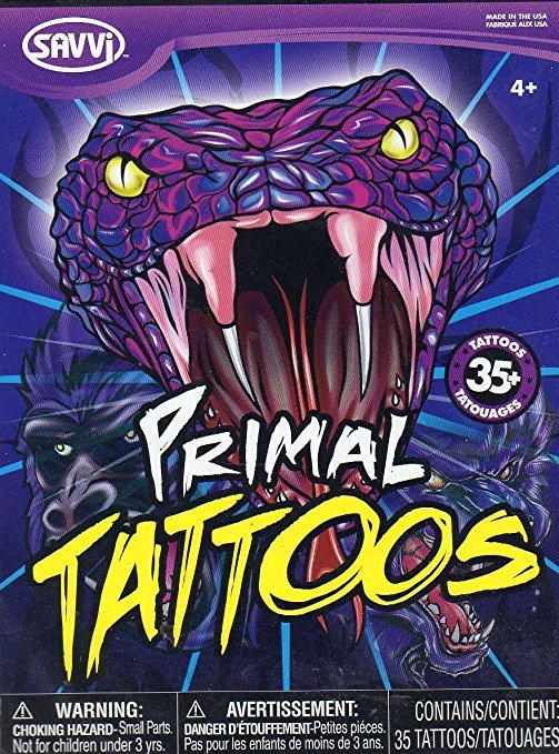 Primal Temporary Tattoos - Over 35 Tattoos By Savvi