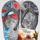 Transformers Prime Flip Flops Size S 8 - 9 (Kids)