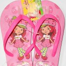 Strawberry Shortcake Flip Flops Size L 12 - 13 (Kids)