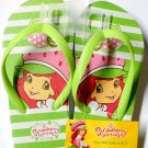 Strawberry Shortcake Flip Flops Size M 10 - 11 (Kids)