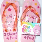 Care Bears Flip Flops Size M 1-2 (Kids)