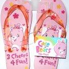 Care Bears Flip Flops Size M 1-2 (Kids)