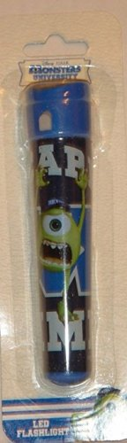 DISNEY PIXAR MONSTERS UNIVERSITY LED FLASHLIGHT - 2 X AAA BATTERIES INCLUDED