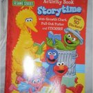 Sesame Street Storytime Activity Book wth Growth Chart, Pull-Out Poster, and Stickers
