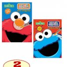 "Sesame Street® Paint with Water Set of 2 Books. ""Elmo Imagines!"" and ""Cookie's Year!""."
