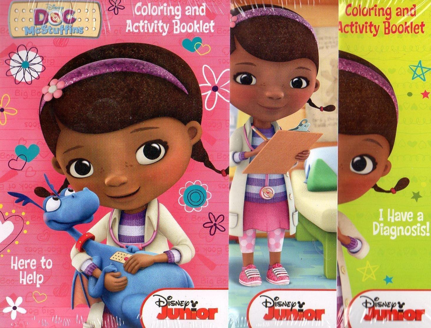 Disney Doc McStuffins Activity Pads ~ Set of 3