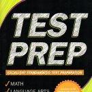 Kindergarten Grade Math & Language Arts Test Prep Workbook (Aligned with Common Core Standards)