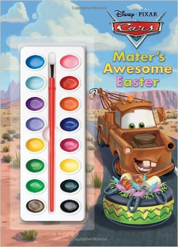 Awesome Easter (Disney/Pixar Cars) (Deluxe Paint Box Book)