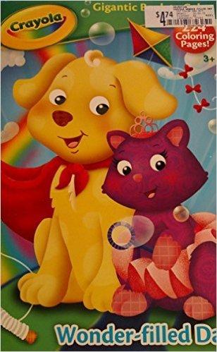 Crayola Gigantic Book to Color ~ Wonder-filled Day